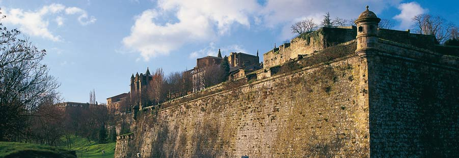 Guided tours of the walls of Pamplona
